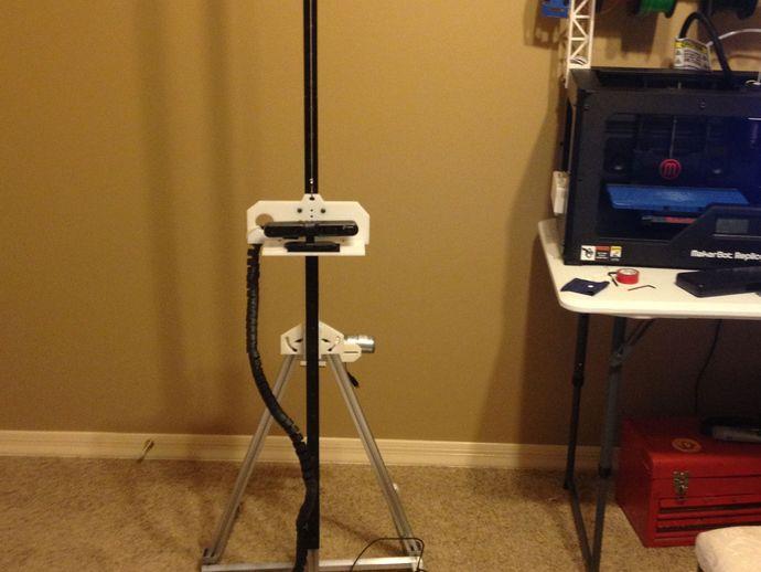 3D扫描仪 3D打印模型渲染图