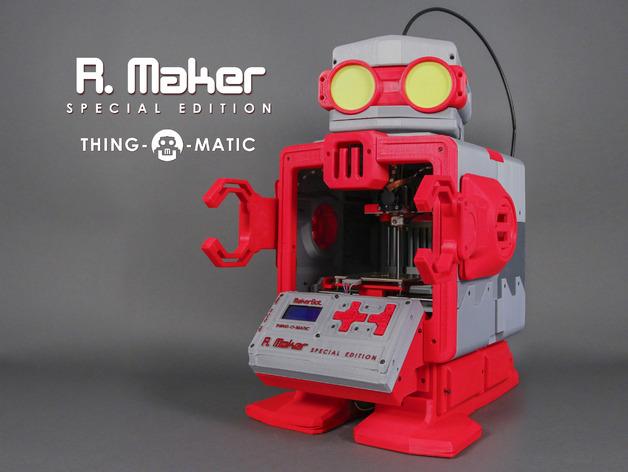 MakerBot Thing-O-Matic 3D打印机 3D打印模型渲染图