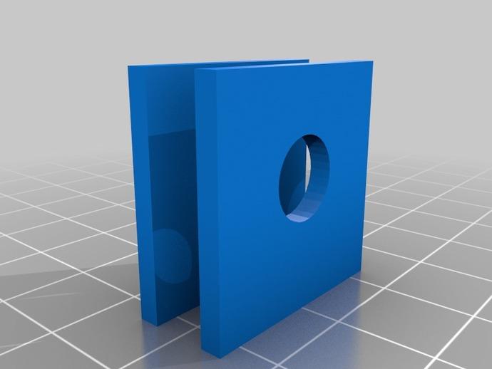 打印机框架连接器  3D打印模型渲染图