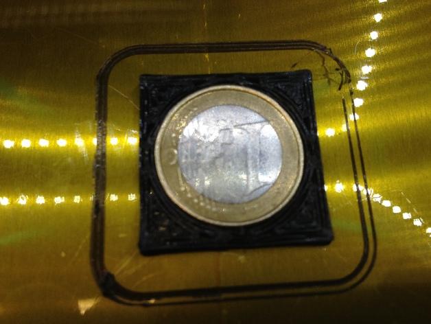 欧元硬币校准器