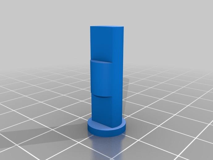 蜗杆传动器 3D打印模型渲染图