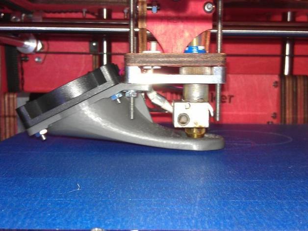 Ultimaker打印机风扇导管 3D打印模型渲染图