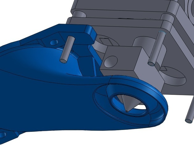 Ultimaker打印机风扇导管