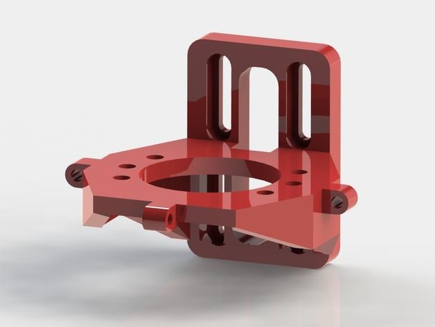 Prusa i3打印机X轴的滑块适配器