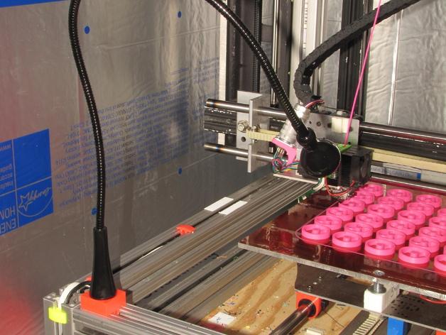 可弯曲台灯底座 3D打印模型渲染图
