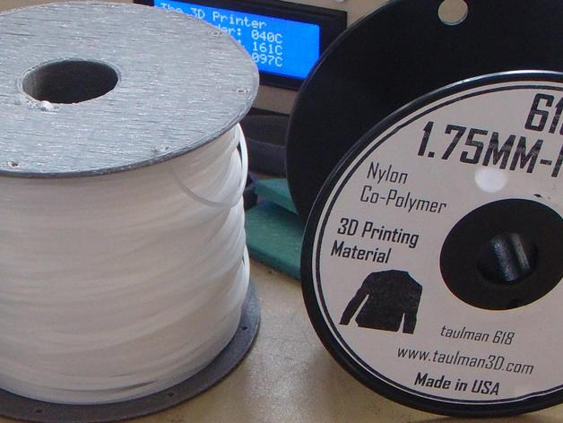 flashforge creators打印机线轴支架 3D打印模型渲染图