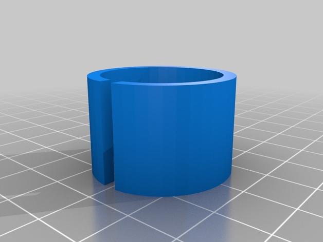 通用式线材清洁器 3D打印模型渲染图