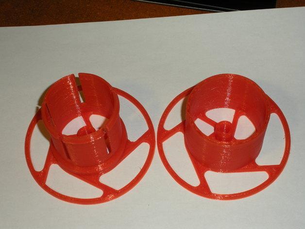 参数化线轴支架 3D打印模型渲染图