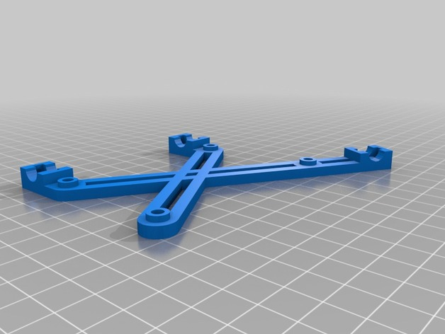 RAMPS电路板支架 3D打印模型渲染图