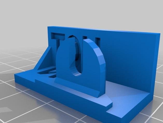 打印机热床指示灯灯罩 3D打印模型渲染图