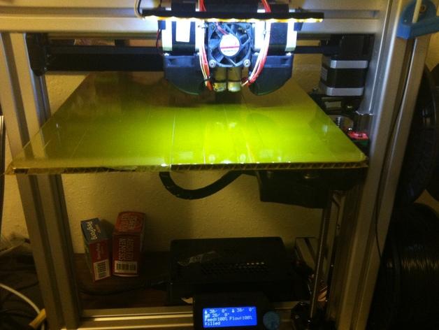 打印机光棒支架