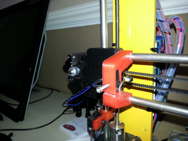 Prusa I3 x轴限位开关 3D打印模型渲染图