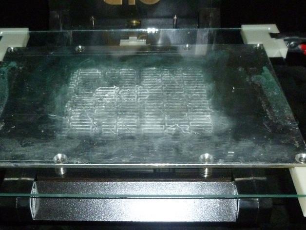 热床支架 3D打印模型渲染图