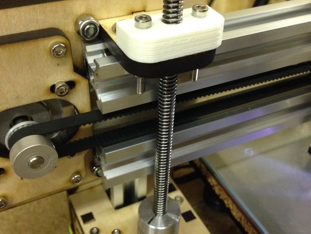 Prusa i3v 打印机Z轴螺母板