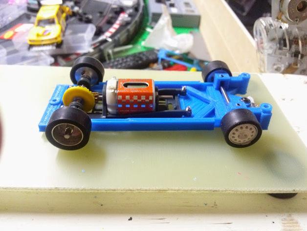 spirit peugeot 205标致汽车模型底盘