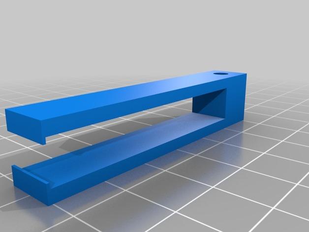线夹 线材导线器 3D打印模型渲染图