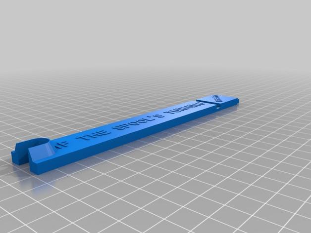 RoBo 3D打印机顶部线轴支架