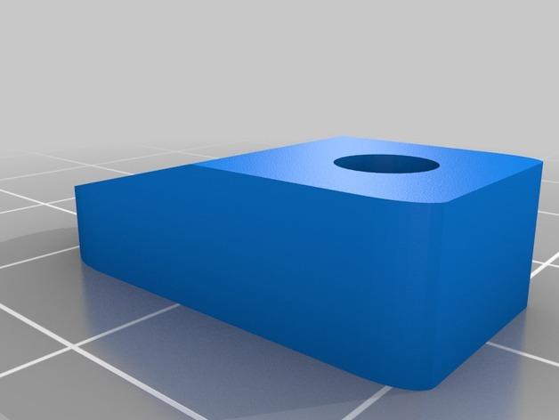 Lulzbot TAZ 4 打印机热床顶夹