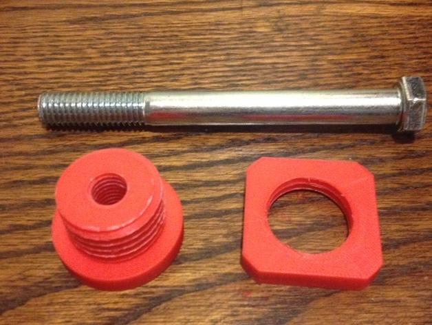 Flashforge打印机线轴适配器