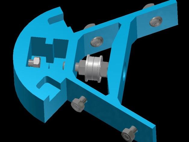 Kossel mini打印机顶部框架