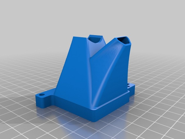 Lulzbot TAZ打印机风扇导管 调平器
