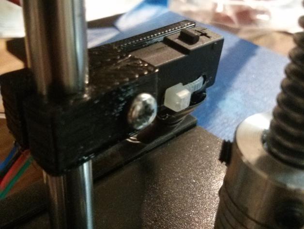 打印机Z轴限位开关支成架 3D打印模型渲染图