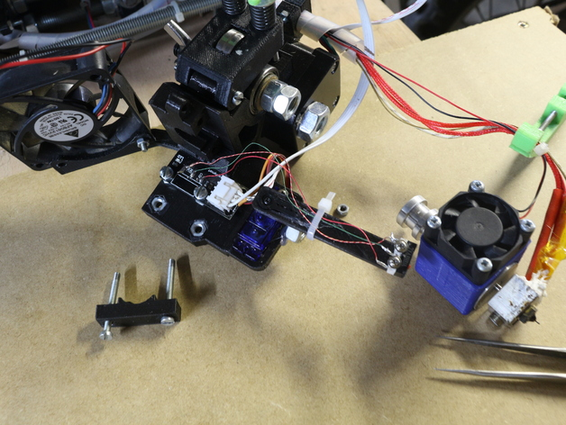 prusa i3打印机挤出机