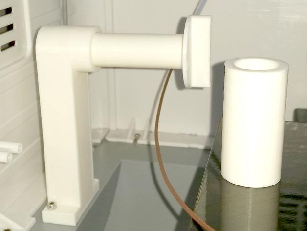 大型轴插座 3D打印模型渲染图