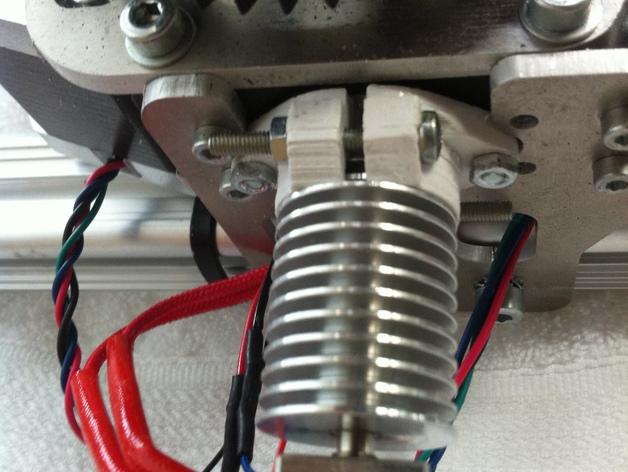 3Drag/K8200打印机喷头适配器