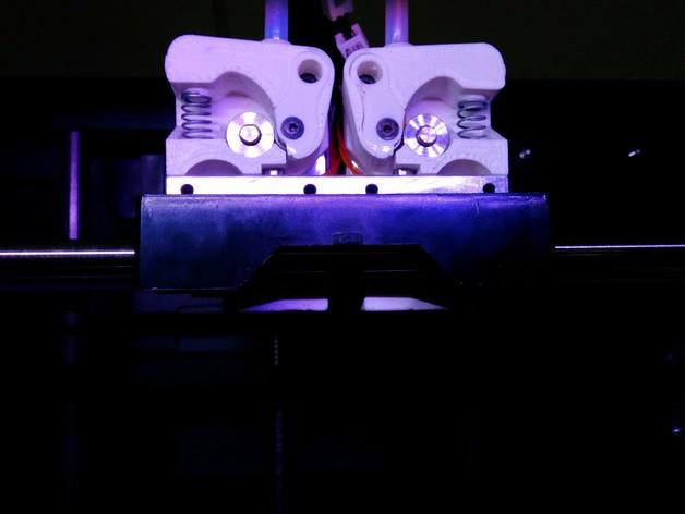 弹性挤出机 3D打印模型渲染图