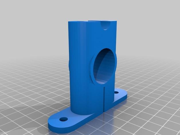 打印机X轴导螺杆连接器