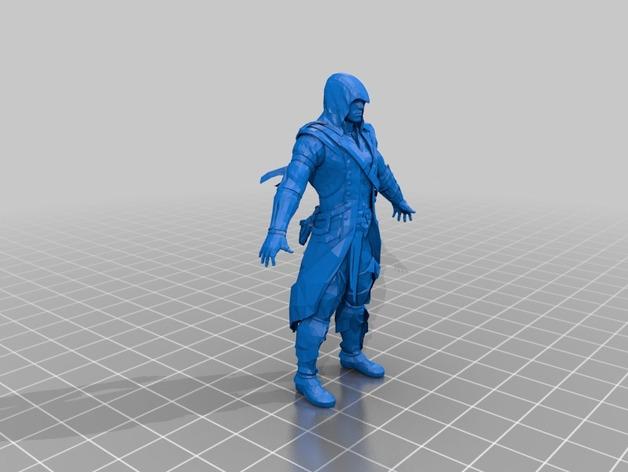 刺客信条 Connor 人物模型