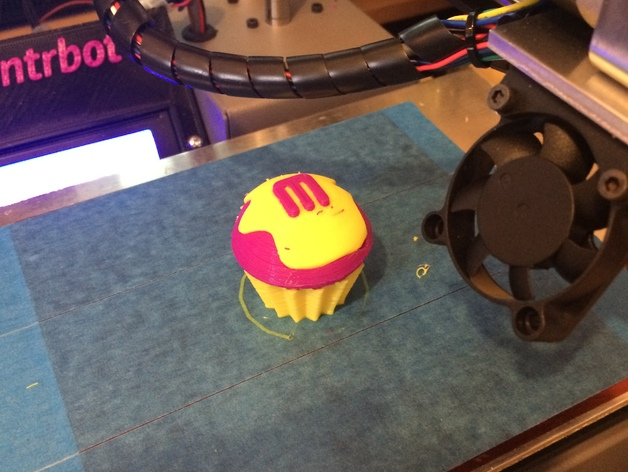 Printrbot Simple打印机金属挤出机 3D打印模型渲染图
