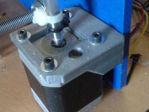 打印机Z轴马达支架 3D打印模型渲染图