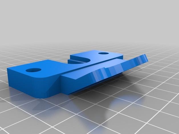 E3D v6喷头支架 带风扇支架 3D打印模型渲染图