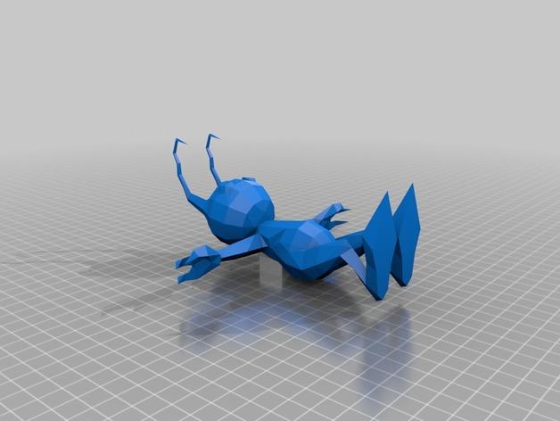 Shadow蚂蚁 3D打印模型渲染图