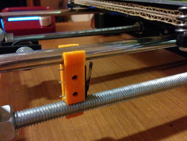 prusa i3 打印机限位开关 3D打印模型渲染图