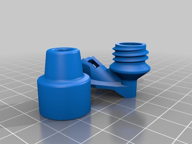 线材滤尘器 3D打印模型渲染图