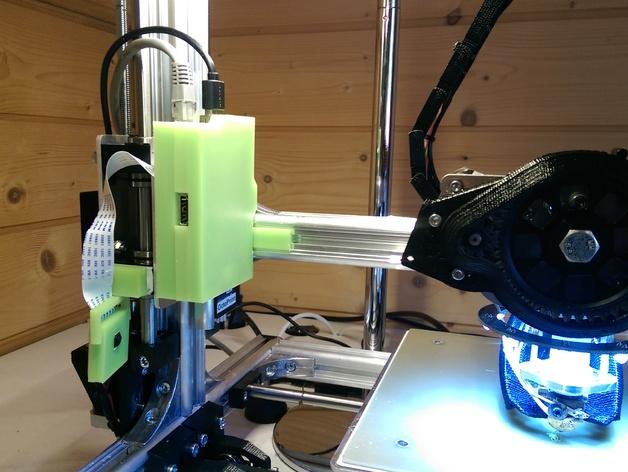 Raspberry Pi树莓派电路板支架 3D打印模型渲染图