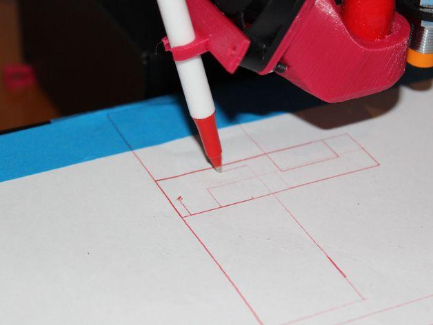 3D打印笔支架