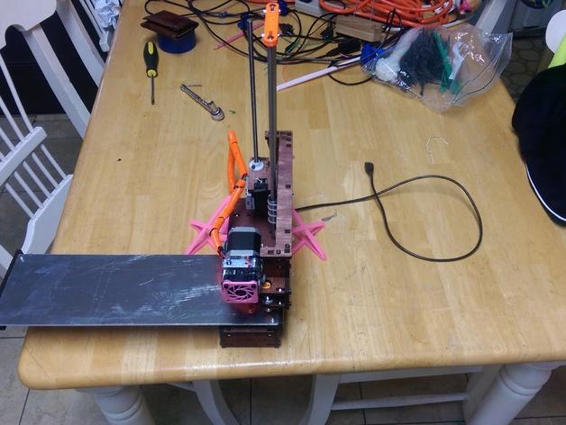 Printrbot Simple 打印机稳定器 3D打印模型渲染图