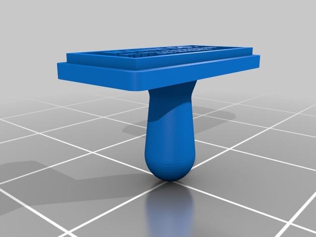 军团要塞 印章 3D打印模型渲染图