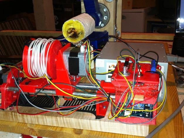 线轴支架 卷线器 3D打印模型渲染图