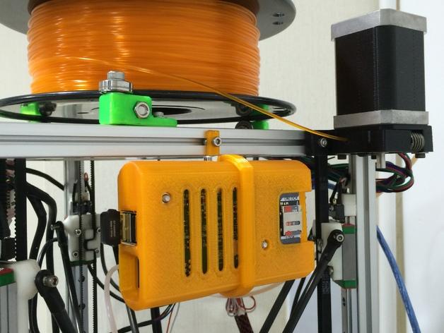 Raspberry Pi树莓派电路板外壳和支架 3D打印模型渲染图