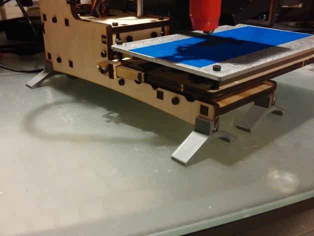 Printrbot Simple 打印机底部稳定器