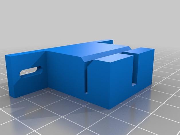 Prusa i3打印机Y轴皮带固定器