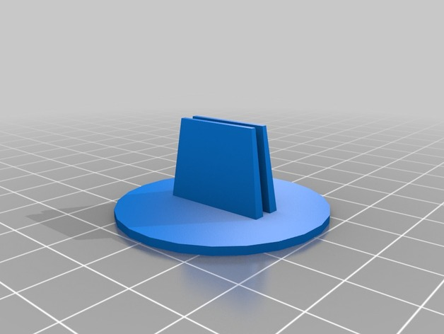 Printrbot Simple Metal打印机脚垫 3D打印模型渲染图