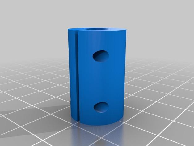 Printrbot Simple打印机Z轴耦合器 3D打印模型渲染图