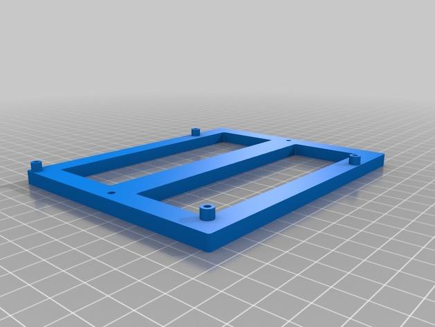 Mini Kossel 打印机电路板支架