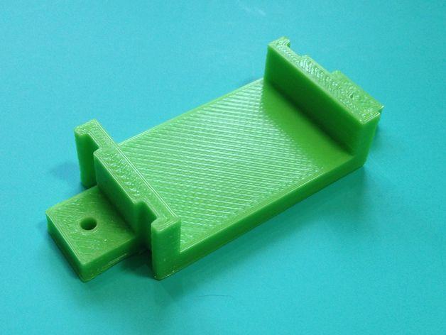 挤出机支架 3D打印模型渲染图